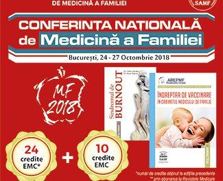 Conferinta Nationala de Medicina a Familiei: 24-27 octombrie, Bucuresti