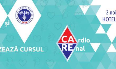 A doua editie a cursului CaRe – CardioRenal: 2 noiembrie, Iasi