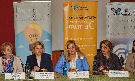 """""""Hepatita C se poate vindeca"""" – campanie de testare pentru o sută de mii de români"""