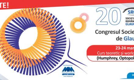 Congresul Societății Române de Glaucom: 21-24 martie, Poiana Brașov