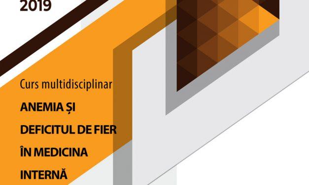 """Curs multidisciplinar """"Anemia si deficitul de fier in medicina interna"""": 10 mai, Braila"""