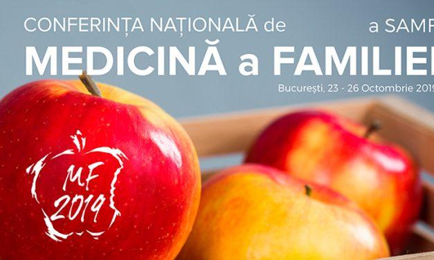 Conferinţa Naţională de Medicină a Familiei: 23–26 octombrie, Bucureşti