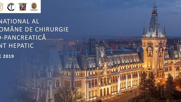 Congresul Național al Asociației Române de Chirurgie Hepato-Bilio-Pancreatică și Transplant Hepatic: 25-28 septembrie, Iași