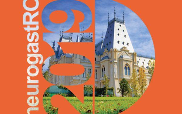 Societatea Română de Neurogastroenterologie organizează la Iaşi NeurogastRO 2019