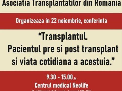 Asociaţia Transplantaţilor din România (ATR): Aventura de a fi pacient cu transplant şi nevoie de transplant