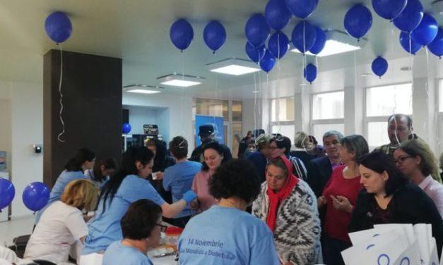 21 de persoane diagnosticate cu diabet, trei fiind internate, după testarea gratuită a glicemiei de la SJU Suceava
